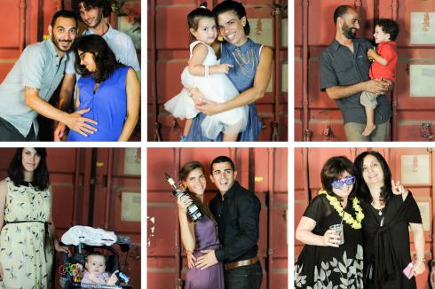 shahar and ofir photobooth